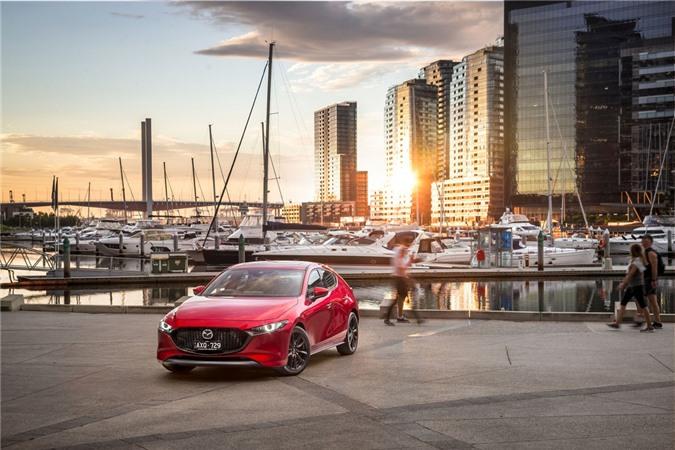 Ra mat Mazda3 va Mazda CX-30 the he moi - dung dong co xang khong bugi anh 2