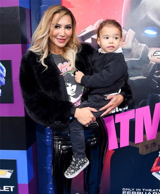 Naya Rivera và con trai 4 tuổi, Josey. Ảnh: Mega.