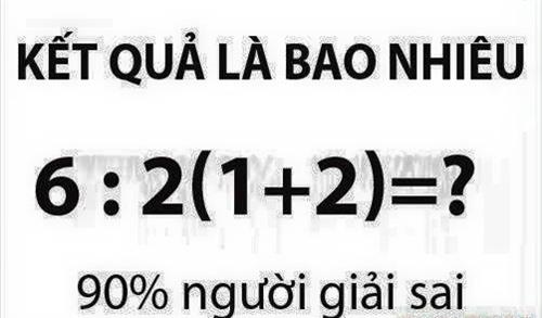 Cùng giải bài toán tiểu học 90% người trả lời sai - 1