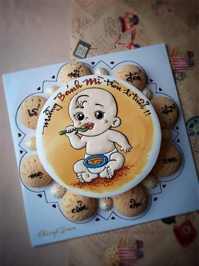 Làm bánh kem đẹp như tranh, mẹ Nha Trang vừa trông con vừa kiếm được tiền triệu - Ảnh 10.