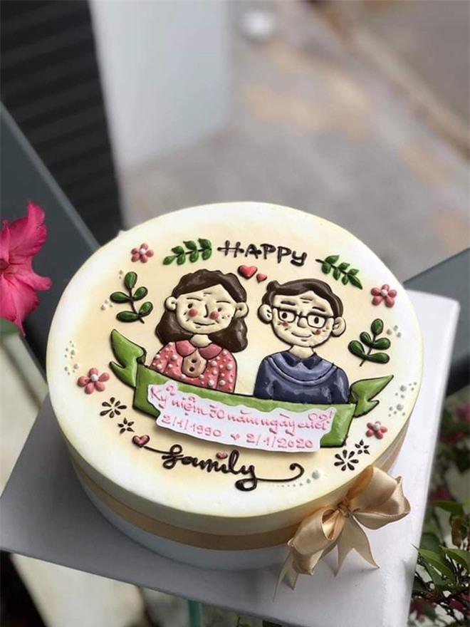 Làm bánh kem đẹp như tranh, mẹ Nha Trang vừa trông con vừa kiếm được tiền triệu - Ảnh 3.