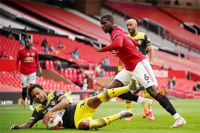 Pogba đã có một ngày thi đấu đáng thất vọng