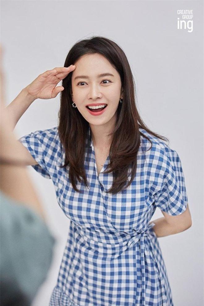 Song Ji Hyo đốn tim netizen bởi nhan sắc rạng rỡ trong bộ ảnh mới - Ảnh 5