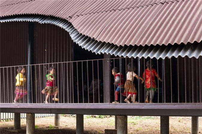 Trường mầm non vùng cao Việt Nam lọt top 10 kiến trúc ấn tượng thế giới - 4