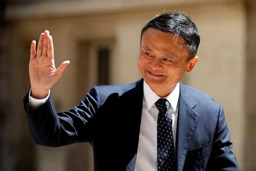 Tỷ phú Jack Ma trong một sự kiện tại Pháp năm 2019. Ảnh: Reuters