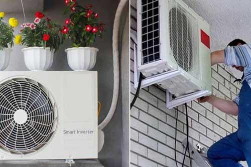 Lắp cục nóng điều hòa đúng chỗ này, máy chạy êm ru lại tiết kiệm được cả chục số điện mỗi tháng