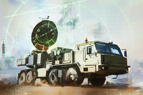 Krasukha-2O là bước phát triển tiếp theo của những hệ thống Krasukha-2/4 đã thành danh trên chiến trường Syria. Ảnh: Topwar.