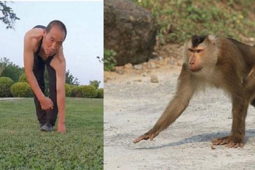 Người đàn ông đi lại, leo trèo như khỉ trong 30 năm…để đảm bảo sức khỏe tốt