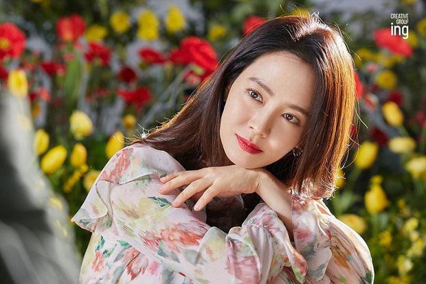 Song Ji Hyo đẹp xuất sắc ở tuổi 39. (Ảnh: Twitter).