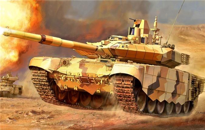 'Anh lớn' Bắc Phi mua 500 tăng T-90 để càn quét lính Thổ ở Libya?