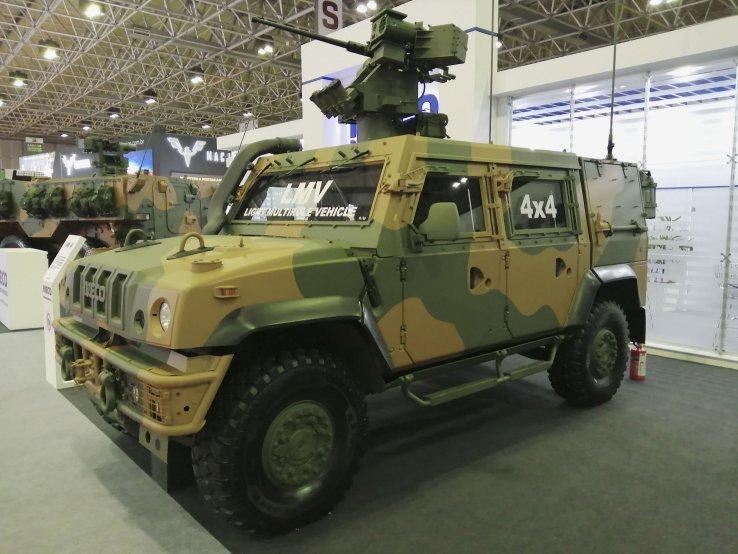 Quân đội Brazil chuẩn bị nhận thiết giáp Iveco LMV đầu tiên
