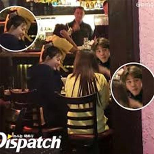 'Ảnh hẹn hò' của Ji Min - Seul Gi khiến fan hoang mang - Ảnh 1