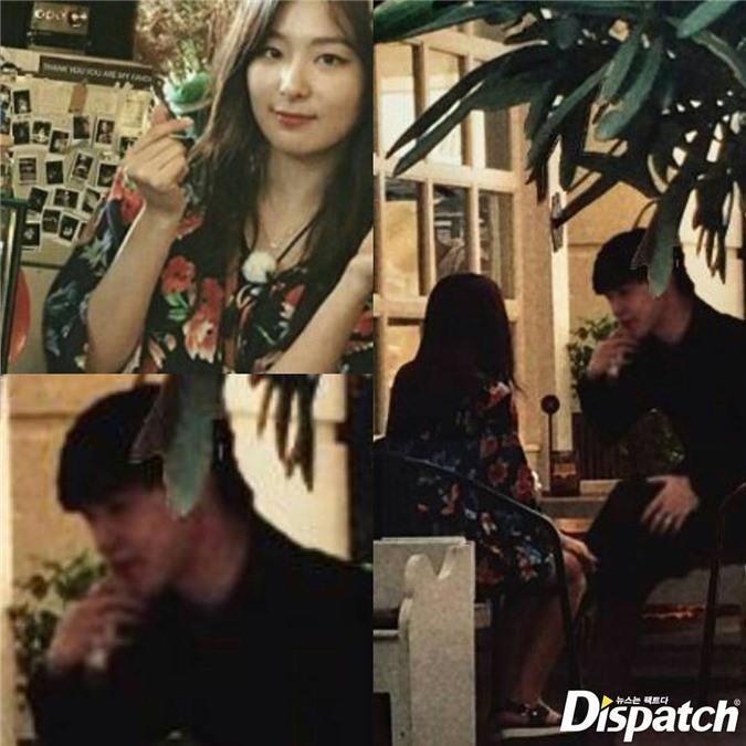 'Ảnh hẹn hò' của Ji Min - Seul Gi khiến fan hoang mang - Ảnh 5