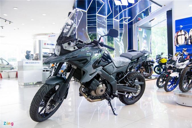 Suzuki V-Strom 1050 ve VN - moto adventure gia 419 trieu anh 1
