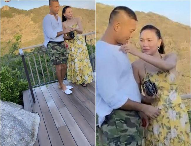 Chồng cũ bị nghi hẹn hò Quỳnh Thư, Quỳnh Nga 'bình chân như vại' khi bị réo tên - Ảnh 1