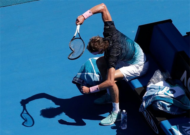 Tại sao Rafael Nadal chưa từng đập vợt? - Ảnh 1.
