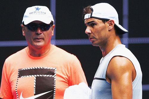 Nadal (phải)
