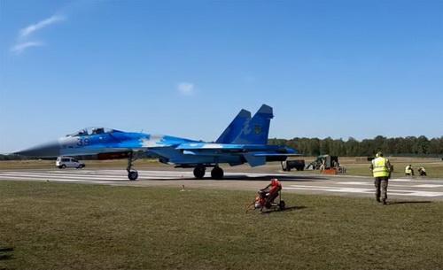 Tiêm kích Su-27 của Không quân Ukraine. Ảnh: Topwar.