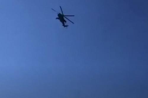 Trực thăng Nga cản Azerbaijan tấn công Armenia