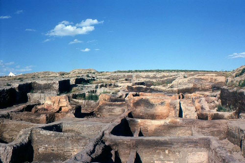 Phế tích cổ Catalhoyuk. (Nguồn: en.wikipedia.org)