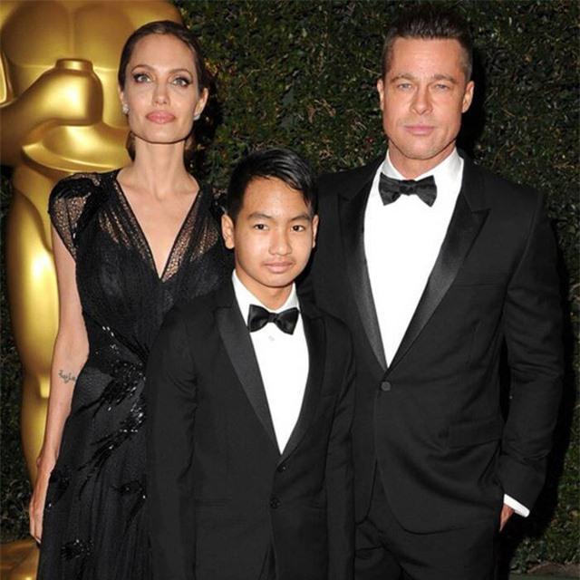 Brad Pitt vẫn còn căng thẳng với con trai cả - Ảnh 1.