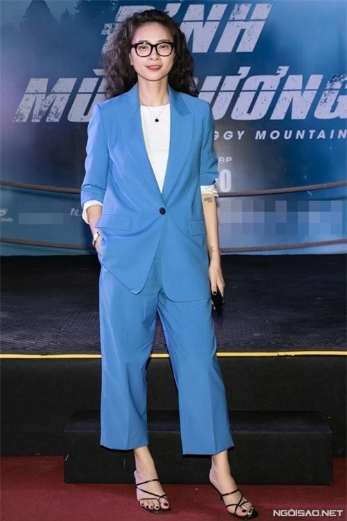 Đả nữ Ngô Thanh Vân tới ủng hộ một sản phẩm thuộc dòng phim hành động - võ thuật của Việt Nam.
