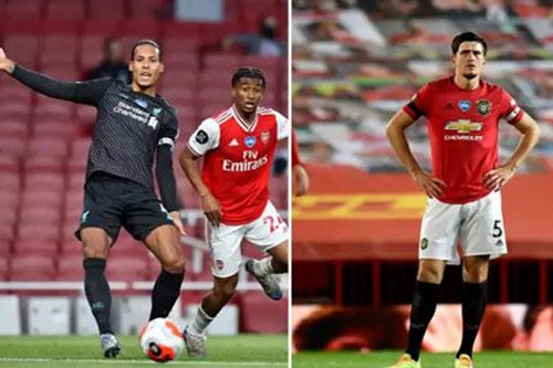 Van Dijk mắc lỗi dẫn tới bàn thua nhiều hơn cả Maguire tại Premier League 2019/20