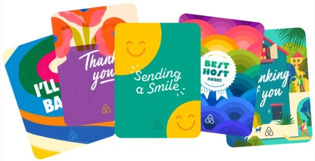 """tính năng """"kindness card"""", cho phép người thuê nhà gửi tiền hỗ trợ cho host."""
