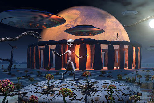 Điều gì xảy ra nếu người ngoài hành tinh đến Trái Đất