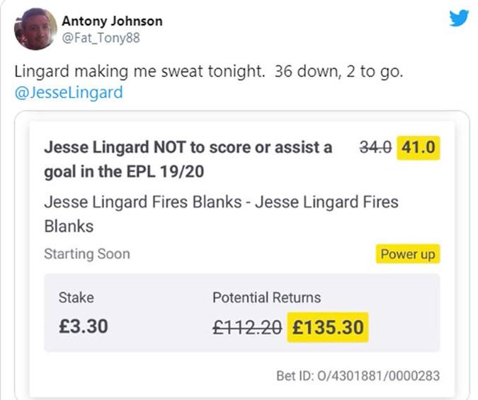 Johnson đặt cược cho Lingard