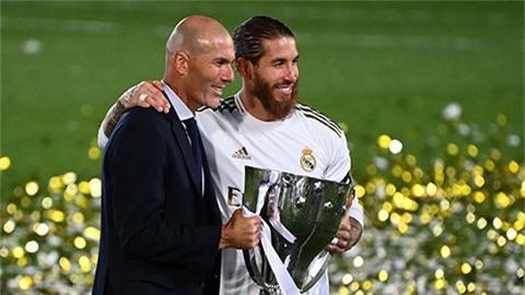 Ramos: 'Mọi thứ Zidane sờ vào đều biến thành vàng'
