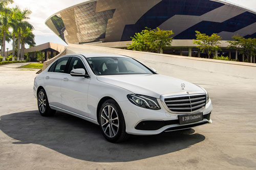 Mercedes-Benz E200 Exclusive 2020. Ảnh: Mercedes-Benz Việt Nam.