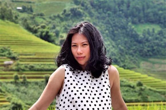 nhan sắc vợ Tùng Dương 1