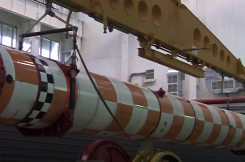 Ngư lôi hạt nhân (tàu ngầm không người lái) Poseidon của Nga. Ảnh: RIA Novosti.
