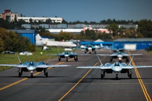 Không quân Nga hiện chưa nhận được chiếc Su-57 sản xuất hàng loạt nào. Ảnh: RIA Novosti.