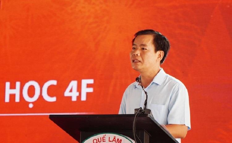 Phó Chủ tịch UBND tỉnh Thừa Thiên Huế Nguyễn Văn Phương phát biểu tại lễ ra mắt dự án