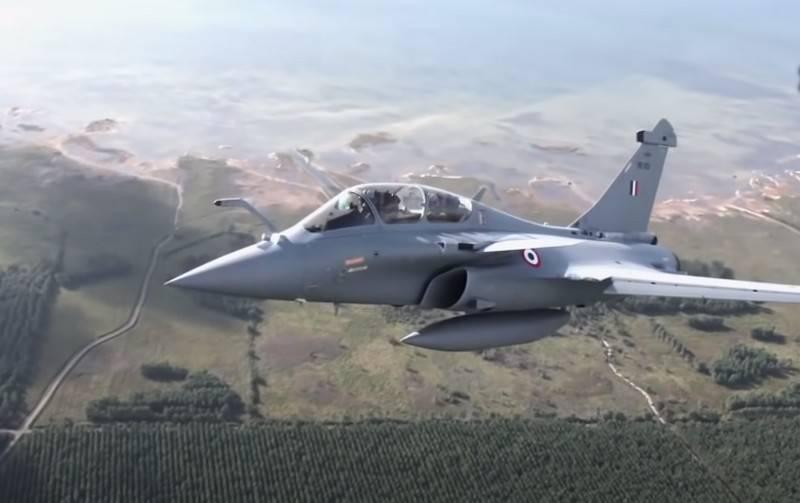Tiêm kích đa năng Rafale của Không quân Ấn Độ. Ảnh: Topwar.