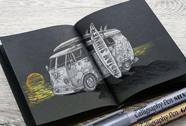 Bạn sẽ vẽ gì lên tờ giấy?
