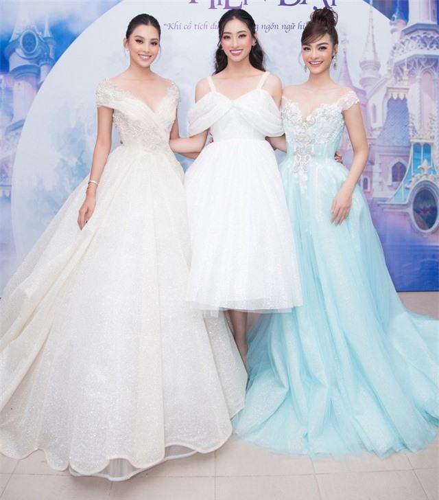 Dàn Hoa hậu, Á hậu sinh năm 2000 đọ dáng trong đầm công chúa - Ảnh 1.