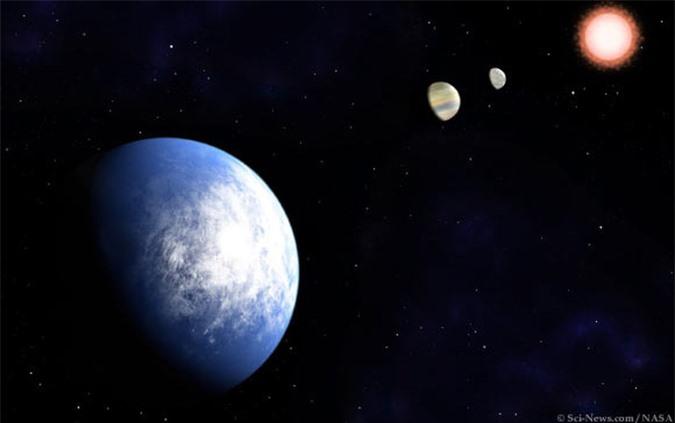 Phát hiện hành tinh giống trái đất nằm ngay vùng sự sống - Ảnh 1.