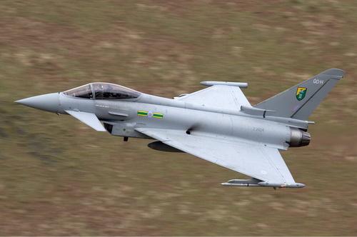 Không quân Indonesia muốn mua lại tiêm kích Eurofighter Typhoon đã qua sử dụng từ Áo. Ảnh: TsAMTO.