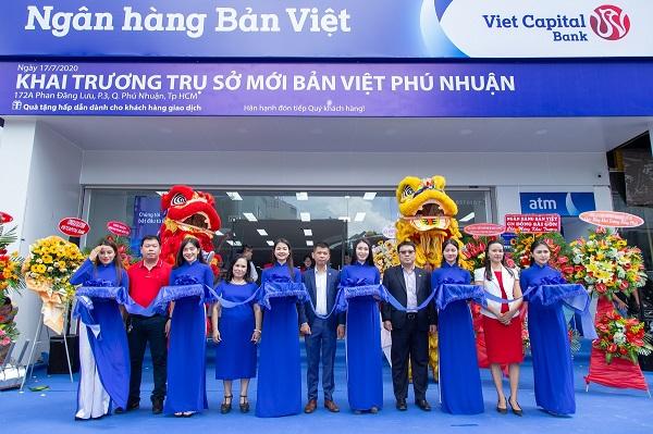 Ngân hàng Bản Việt chào đón diện mạo mới của Phòng giao dịch Phú Nhuận, tại Số 172A đường Phan Đăng Lưu, phường 3, quận Phú Nhuận, thành phố Hồ Chí Minh.