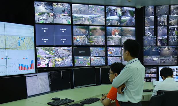 Trung tâm Quản lý và điều hành giao thông TP HCM. (Ảnh minh họa: Internet)