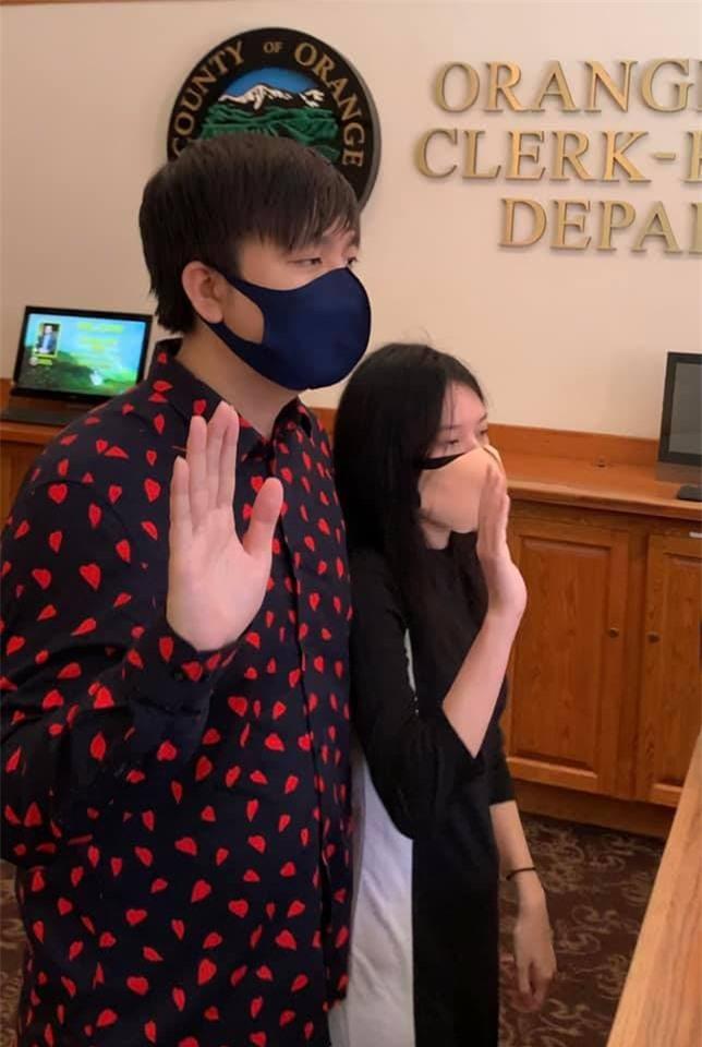 Anh Khang đăng ký kết hôn 3