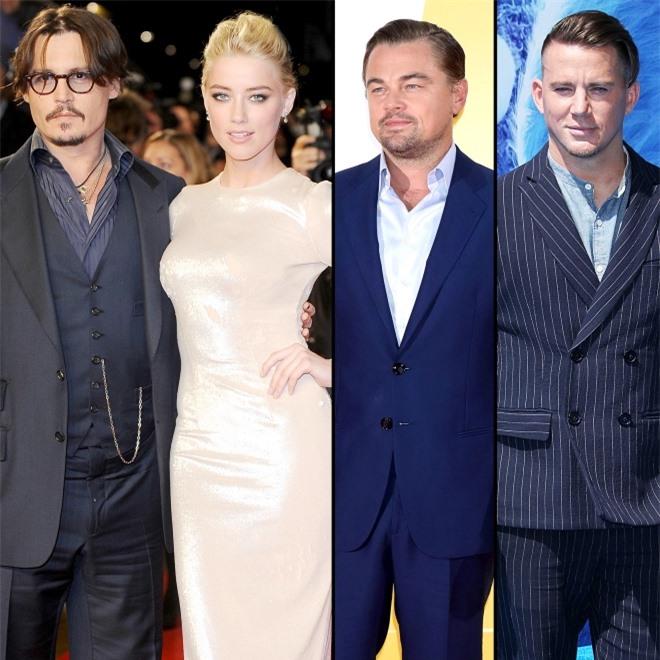 Johnny Depp được cho là nghi vợ tằng tịu với khắp các tài tử Hollywood như Leonardo DiCaprio, Channing Tatum... Ảnh: Shutterstock.