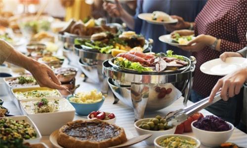 Ăn buffet không lo thiệt