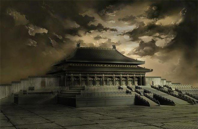 Một giả thuyết cho rằng, sét đánh trúng cung điện nơi nhà vua đang nằm nghỉ.