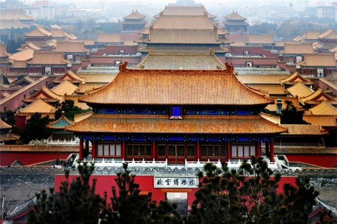 Bắc Kinh - kinh đô của Trung Quốc dưới thời nhà Thanh.