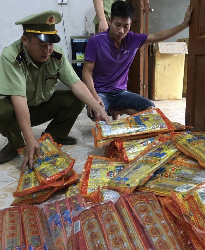 Phát hiện và thu giữ gần 1.500 thẻ hương trầm có dấu hiệu giả mạo nhãn hiệu tại Hà Giang