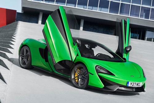 2. McLaren 570S.